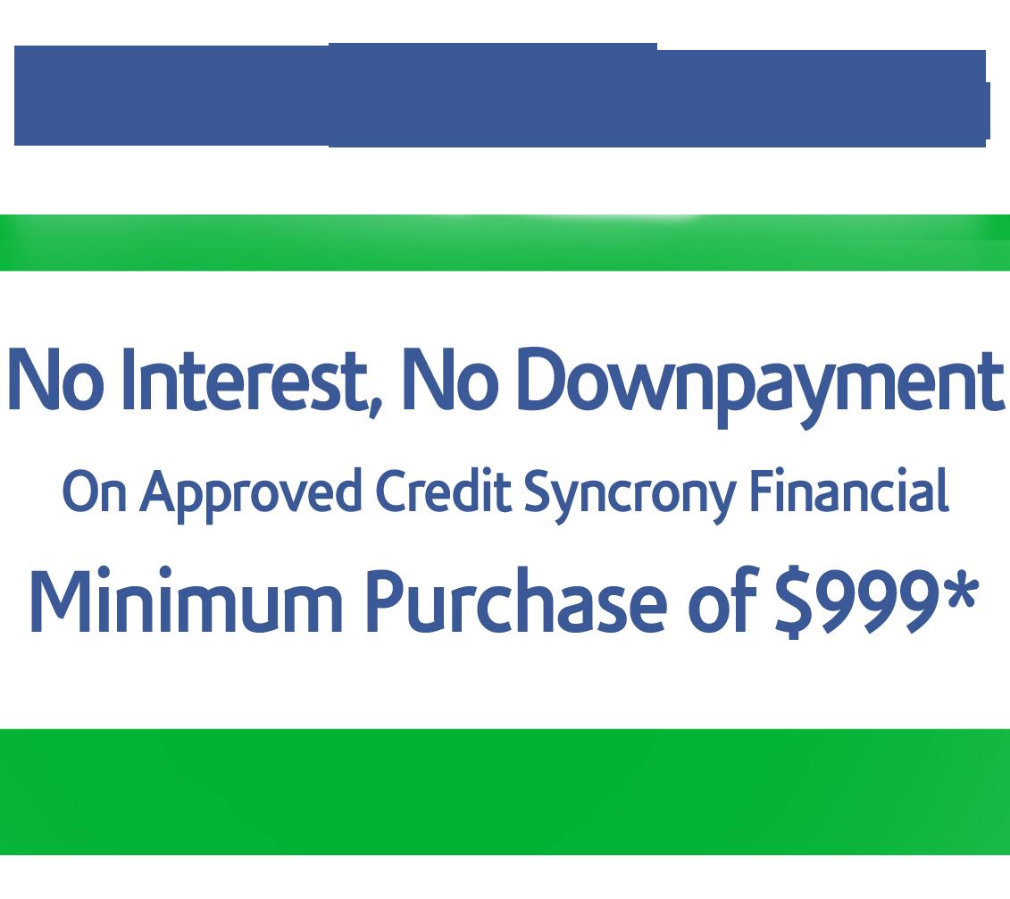 12 month no interest information