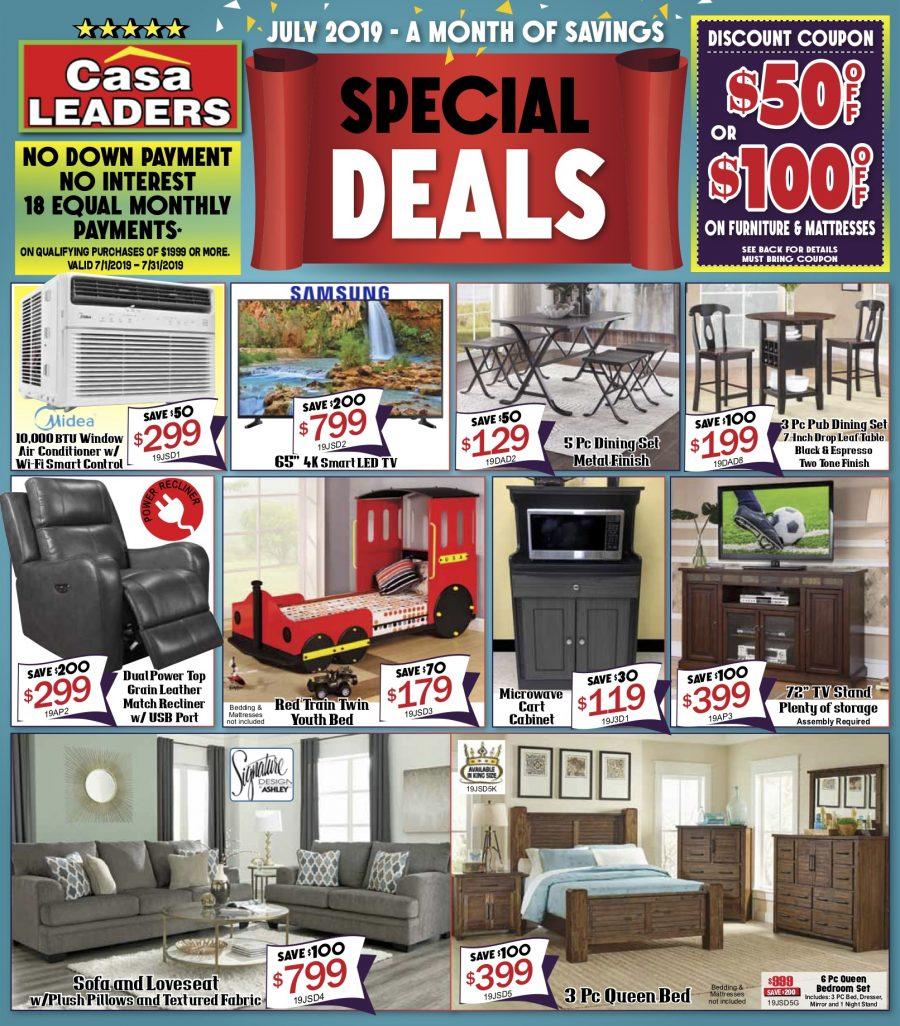 June Special Deals Page 1