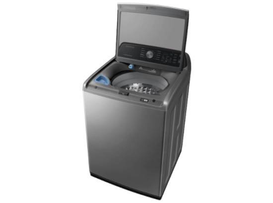 Samsung Washer WA45T3400AP open