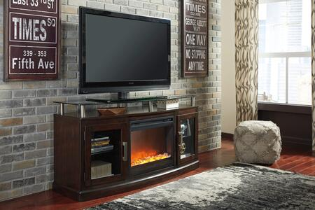 Ashley W757-48 TV Stand Fireplace Product Image