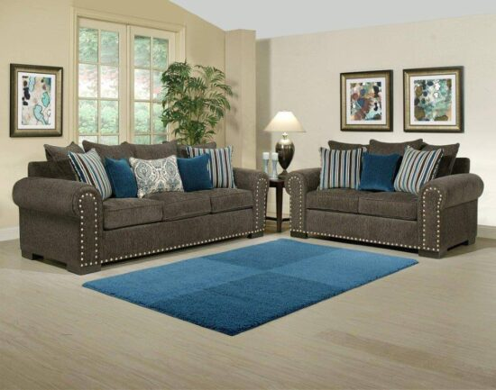 Razor Sofa and Love seat By Comfort Industries product Image