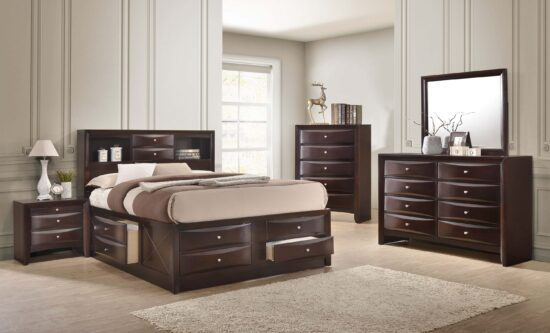 Emily Queen Bed Storage Set product image