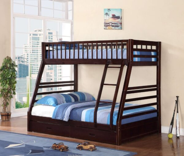 product image of Milton Green Twin Over Full Bunkbed