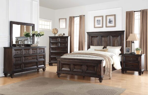 Furniture product 6 piece set queen New Classic Sevilla