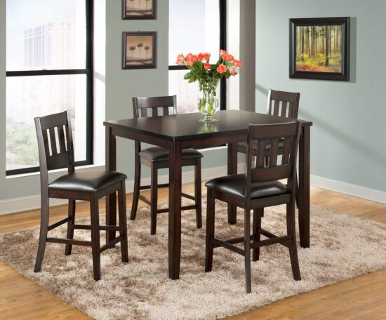 furniture product Americano 5 Piece Dining Pub Set