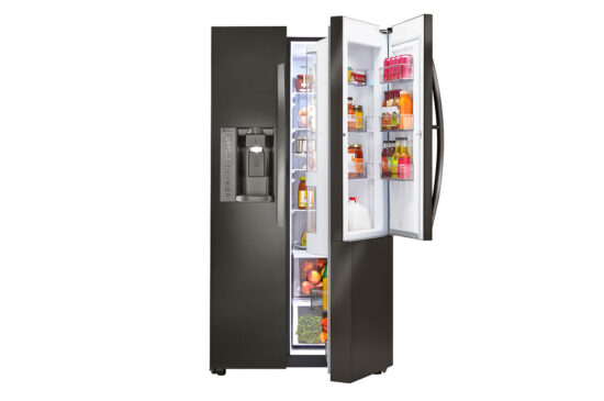 LG LSXS26366D Open door in door compartment product image