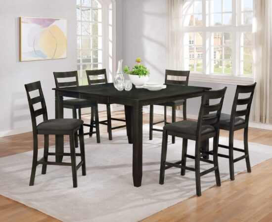 7878-7778 7 piece counter height dining set by Milton Green Stars