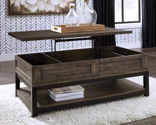 Johurst Lift Top Coffee Table product image table up