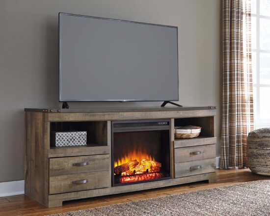 "Trinell 63"" TV Stand fireplace product image"