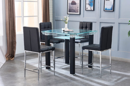 artisan furniture 5 piece dining set product image
