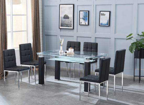 artisan furniture 7 piece dining set product image