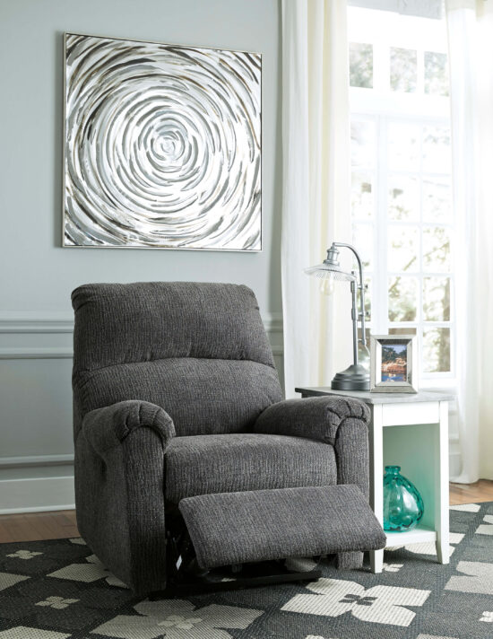 McTeer Charcoal Recliner by ashley product image