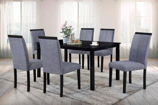 Carla 7 piece dining set by Casa Blanca Furniture product image