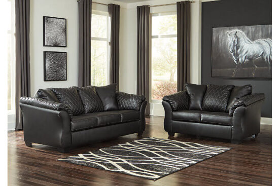 Betrillo Black Sofa and Loveseat by Ashley product image
