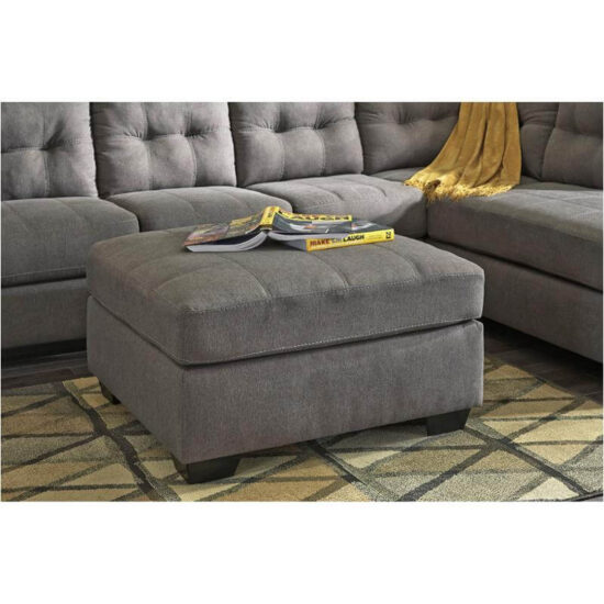 Maier Charcoal Ottoman by Ashley product image