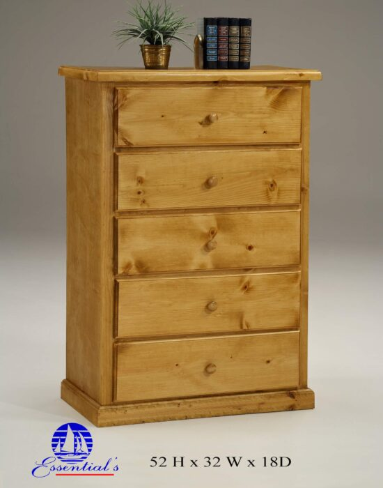 Natural Wood Chest By Essential Furniture product image