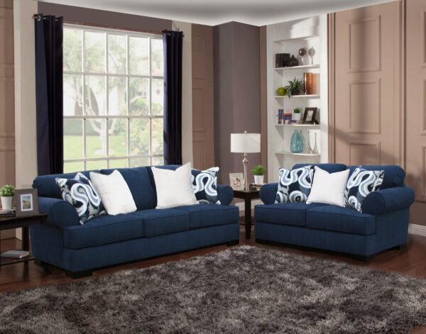 Lia Sofa and Loveseat by Comfort Industries product image