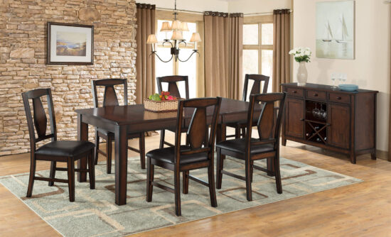 Tuscany Hills 7 Piece Dining Set by Vilo Homes product image
