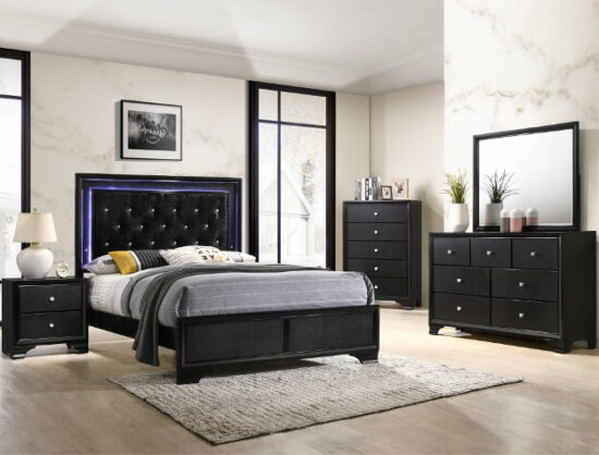 B4350 Micah 6 piece bedroom Set by Crown Mark product image