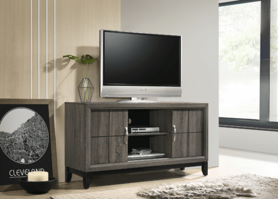 Akerson TV Stand in Grey by Crown Mark product image