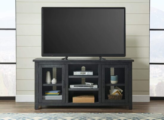"""Ventura 65"""" TV Stand by Martin Svensson Open Grey Product image"""