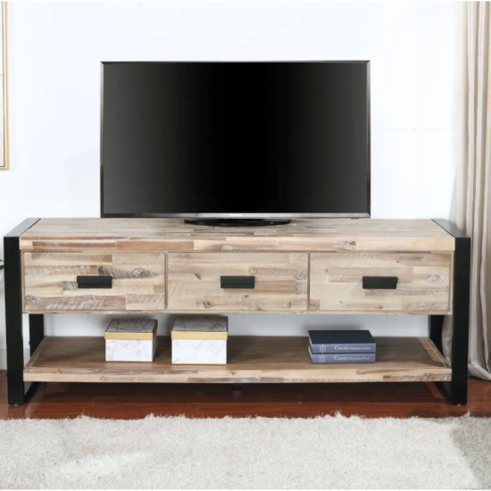 City Slicker Natural TV Stand by Vilo Home product image