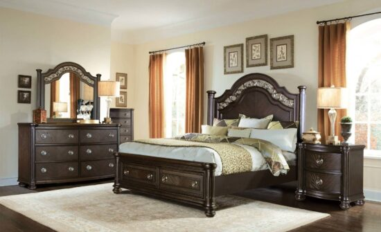 B146 3 Piece Queen Bed By McFerran product image
