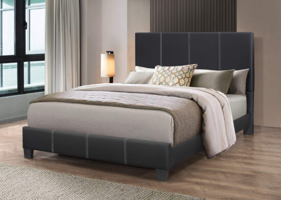 Leather-Like Queen Bed By Casa Blanca Furniture product image