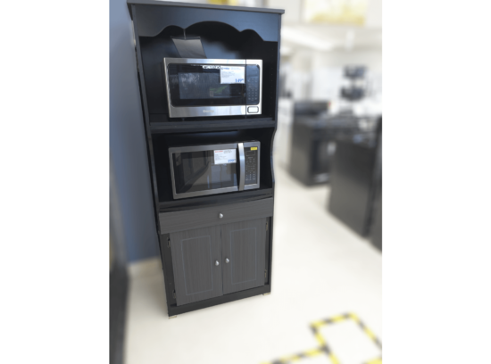 Tall Microwave stand with drawer and cupboard product image