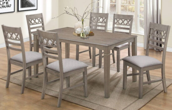 matrix 7 Piece Dining Set by Casa Blanca product image