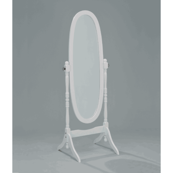 cro2069 Cheval White Mirror By Crown Mark product image