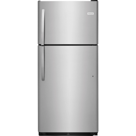 FFTR2021TS Frigidaire 20.4 Cu.Ft Top mount Refrigerator Stainless Steel product image