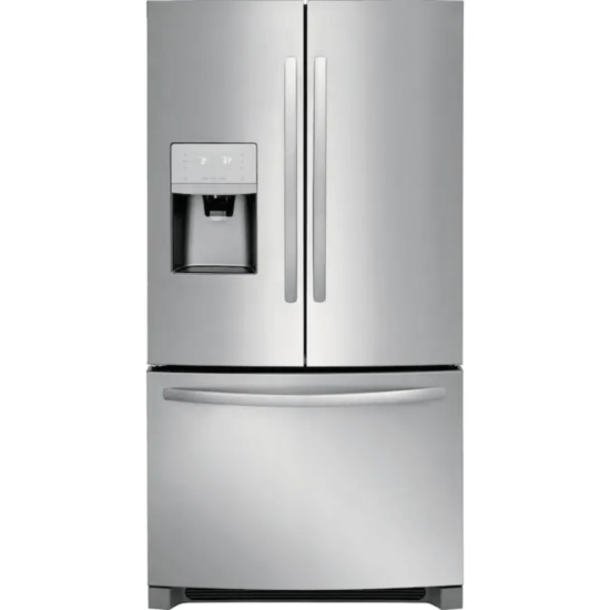 FFHN2750TS Frigidaire 26.8 cu ft French Door Refrigerator with Ice Maker in Stainless Steel product image