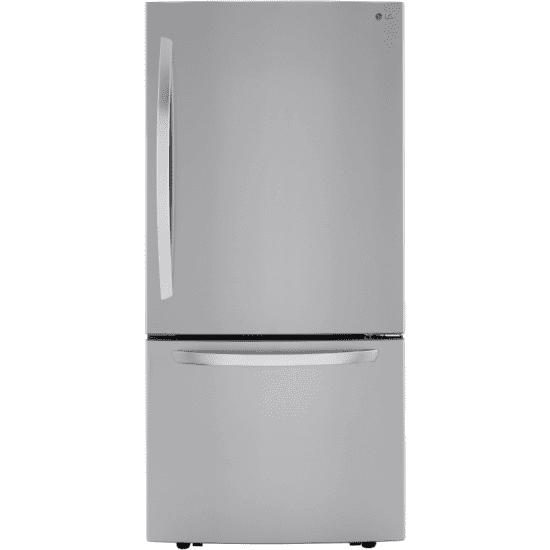 LRDCS2603S LG Freestanding Bottom Freezer Refrigerator with 26 Cu. Ft. Capacity product image