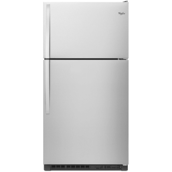 WRT311FZDM Whirlpool Top Mount Refrigerator with Frameless Glass Shelves product image