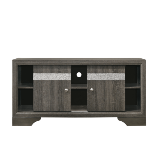 Regata TV Stand in Grey By Crown Mark product image