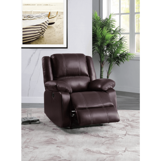 Zuriel Power Recliner in Brown By Acme Furniture product image