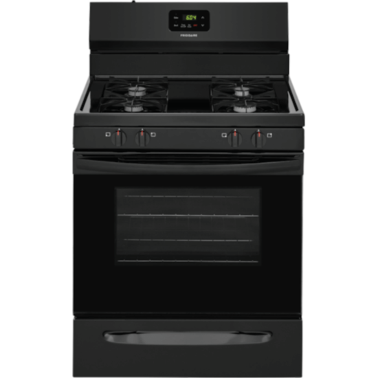 """FCRG3015AB Frigidaire 30"""" Gas Stove in Black product image"""