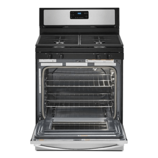 """WFG515S0JS Whirlpool 30"""" 5CFT Self-Cleaning Freestanding Gas Range open product image"""