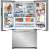 FFHN2750TS Frigidaire 26.8 cu ft French Door Refrigerator with Ice Maker in Stainless Steel open product image french door.