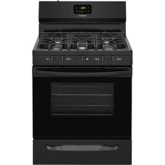 """FCRG3052AB Frigidaire 30"""" Free Standing Gas Stove Black product image"""