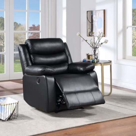 acm56910 Eilbra Power Recliner in Black by Acme product image