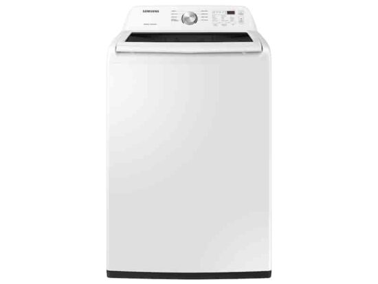 SAMSUNG Top load WASHER 4.5CFT.WH WA45T3200W product image