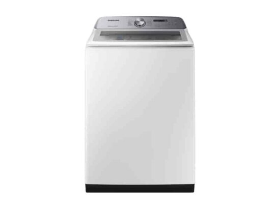 5.0 cu. ft. Top Load Washer with Active WaterJet in White By Samsung product image