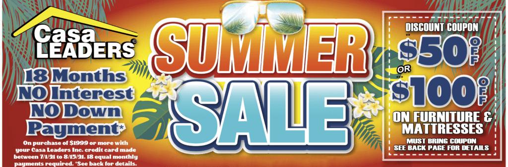 Summer Sale Mailer Banner image