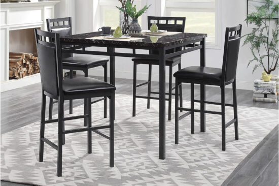Olney 5 Piece Counter Height Dining Set By Home Elegance product image