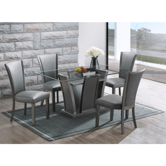 Platina 5 piece Dining set by New classic Furniture product image