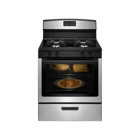 Amana AGR5330BAS 5.1 Cu. Ft. Freestanding Gas Range in Stainless Steel product image
