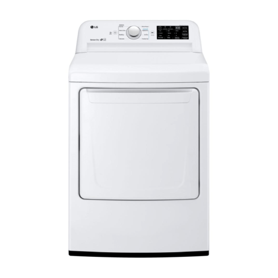 LG 7.3 cu. ft. Gas Dryer DLG7101W with Sensor Dry Technology product image