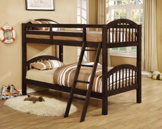 bel4521575 Dana Twin over Twin Bunkbed in Java Finish By Bella Esprit product image